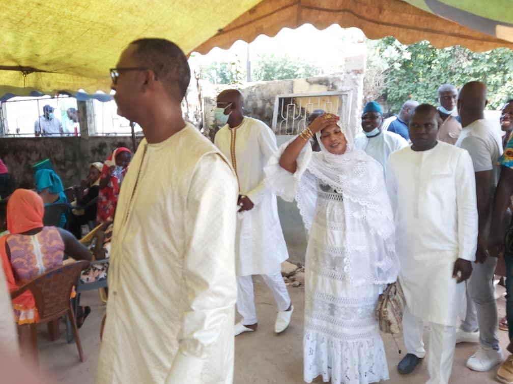 Décès du ministre Moctar Kébé à Kolda: Mameboye Diao est allé présenter ses condoléances