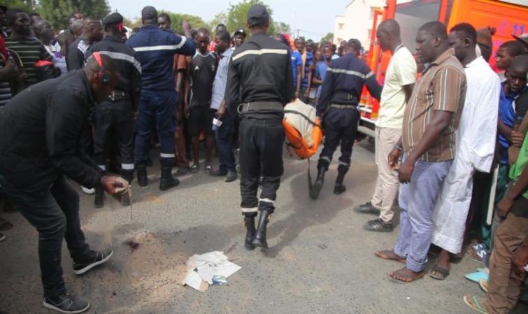 URGENT:  Un accident de la route fait 16 morts à l'entrée de Thiès
