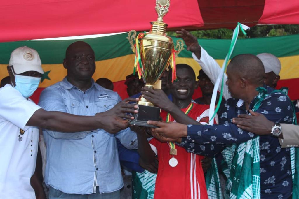 Sédhiou: Les images de la finale Singhère Boumouda et Bouno, parrainée par le président Seydou Sané