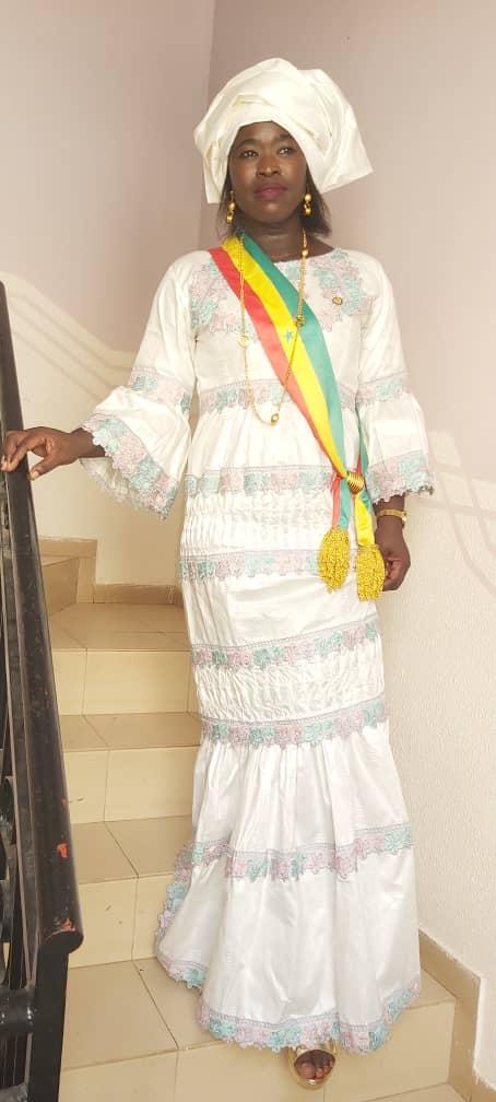 La Benjamine du CESE, Dieynaba Goudiaby à l'installation du nouveau Président