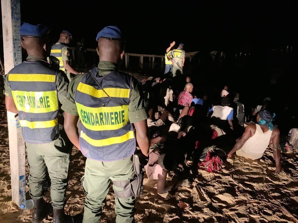 Emigration clandestine : 59 personnes interceptées par la Brigade de gendarmerie de Joal