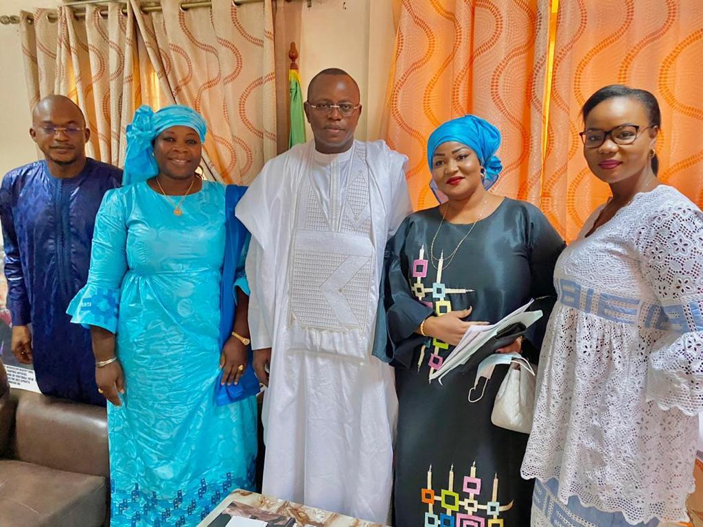 L'association sénégalaise des femmes ingénieures en génie civil reçue par Matar Ba