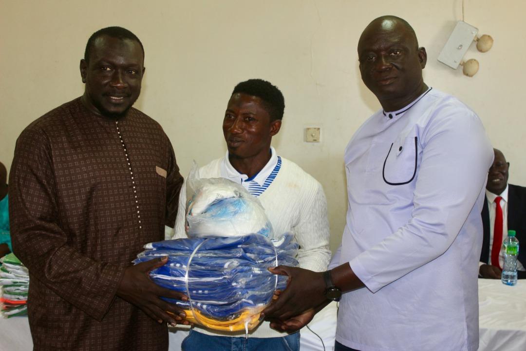 Equipements Sportifs pour les clubs de la Casamance: Le président Seydou Sané a dépensé plus de 10 millions FCFA