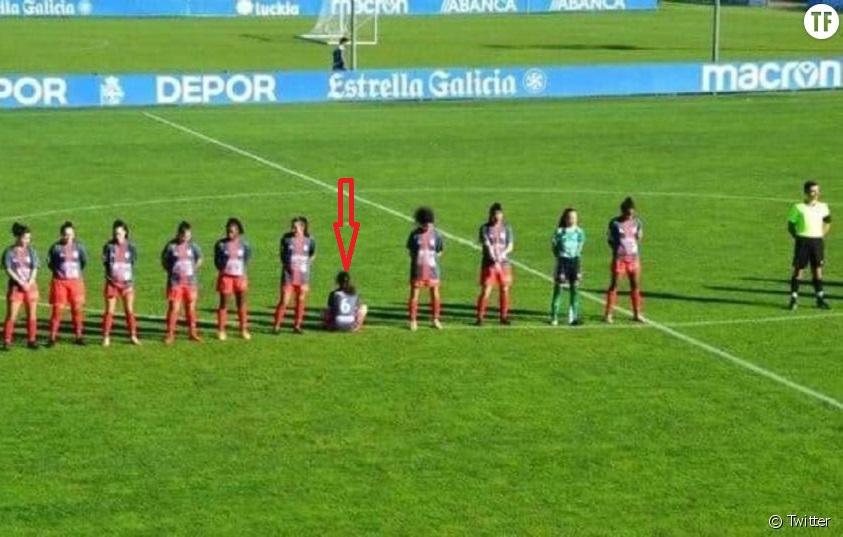 Pourquoi la footballeuse Paula Dapena a tourné le dos pendant l'hommage à Maradona