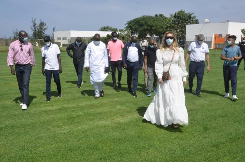 Le fils de Pape Bouba Diop a Génération Foot