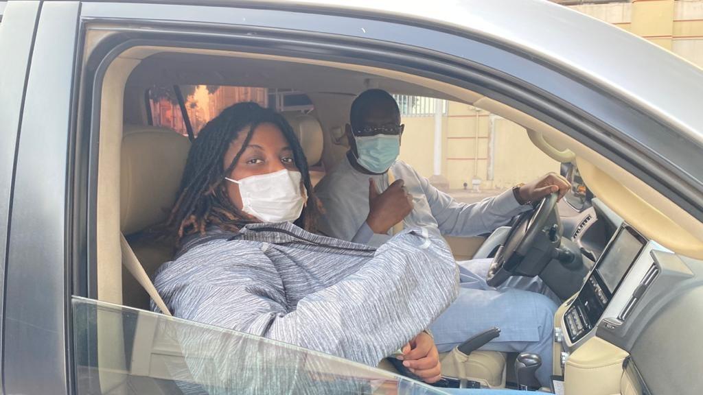 PROPAGANDE: Macky Sall et sa fille dans les rues de Dakar