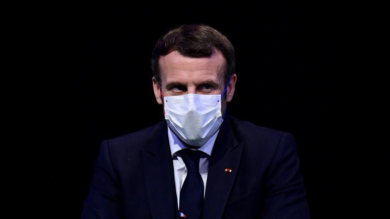 Emmanuel Macron: «Nous avons une nouvelle arme contre le virus, le vaccin»