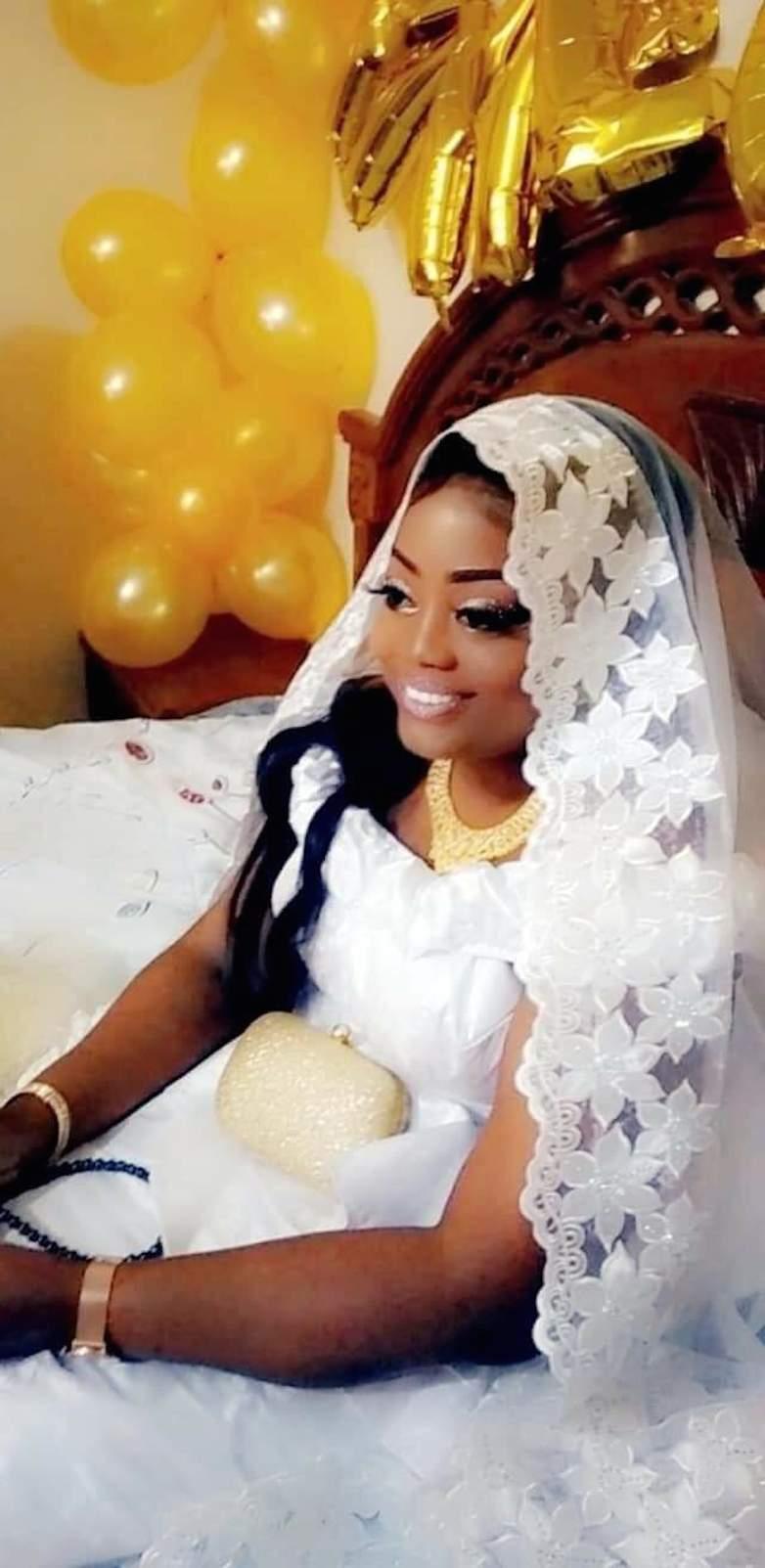 """La réaction de l'Apériste Fatoumata Bathily après la célébration de son mariage: """"Il m'a fait le plus  beau des cadeaux d'anniversaire ... """""""