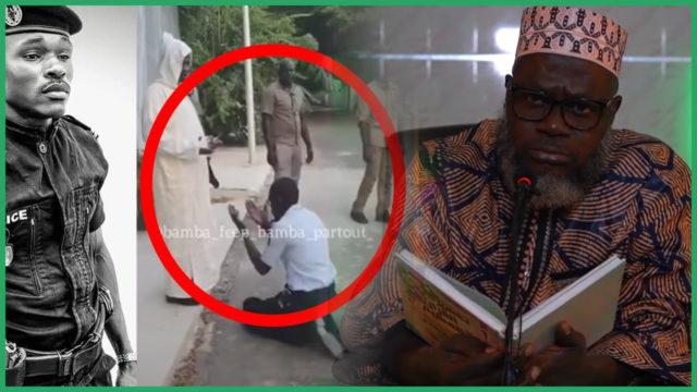 Policier se prosternant devant Kara – Oustaz Oumar Sall: « L'islam bannit cela et condamne les 2 personnes »
