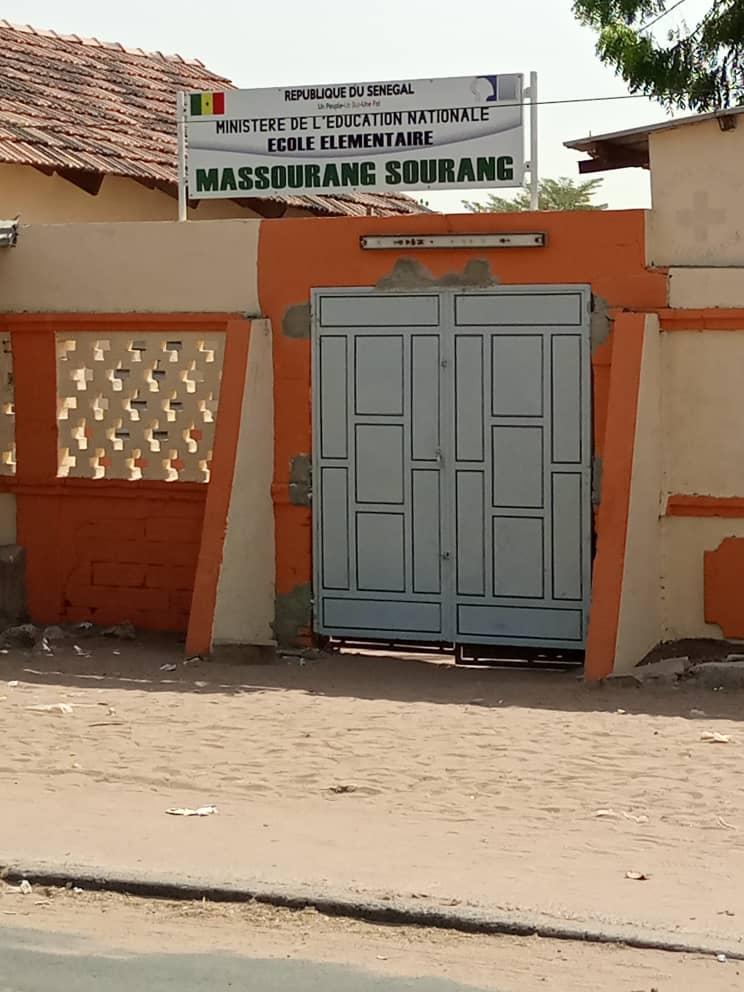 Diourbel: L'école élémentaire Massourang Sourang fait peau neuve grâce à Fatou Diané