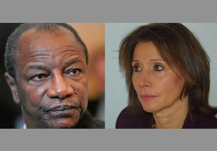 """Une ancienne directrice de RFI tire sur Alpha Condé : """" Un président français respecte sa constitution et n'envisage pas un 3é mandat"""""""