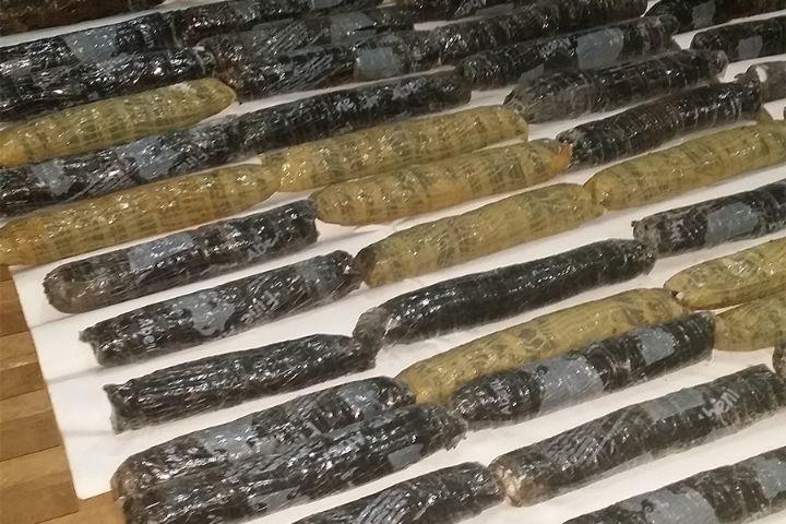 Plus d'une tonne de cocaïne évaluée à plus de 25 milliards de francs FCFA saisie par la gendarmerie à Abidjan