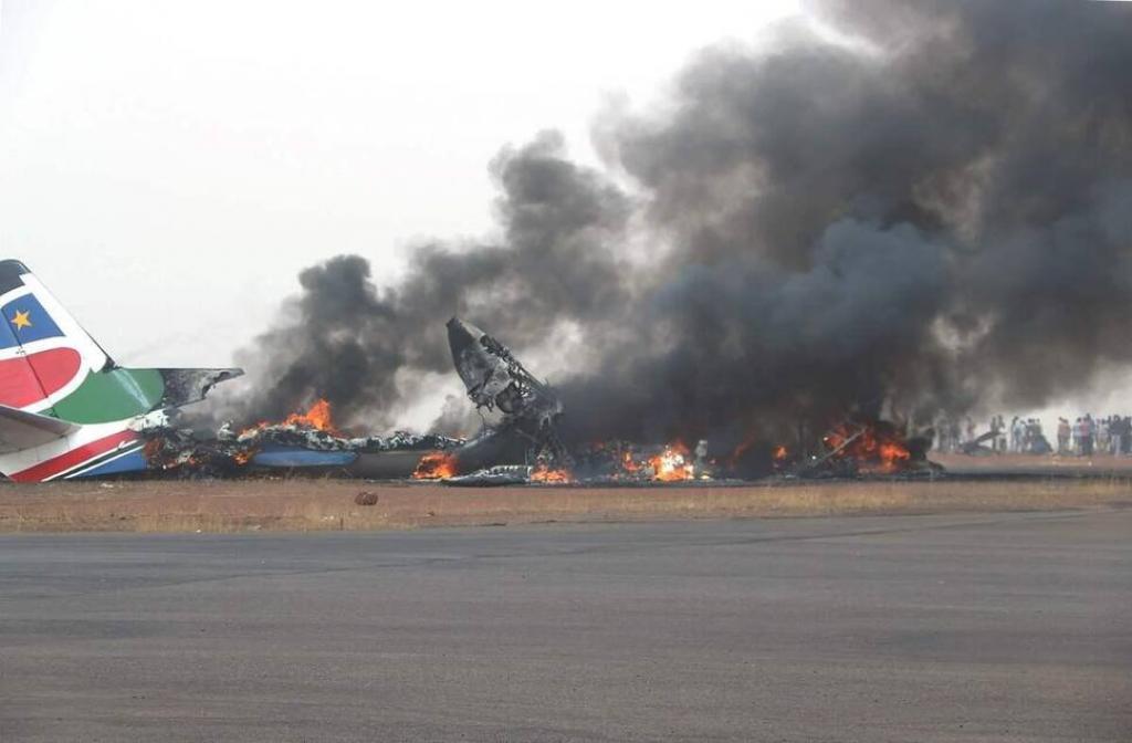 Soudan du Sud: au moins 10 personnes tuées dans le crash d'un avion