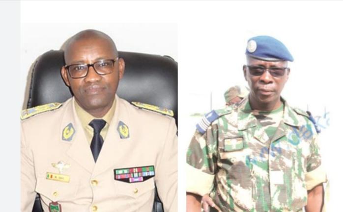 GENDARMERIE : Les généraux Moussa Fall et Mamadou Gaye promus