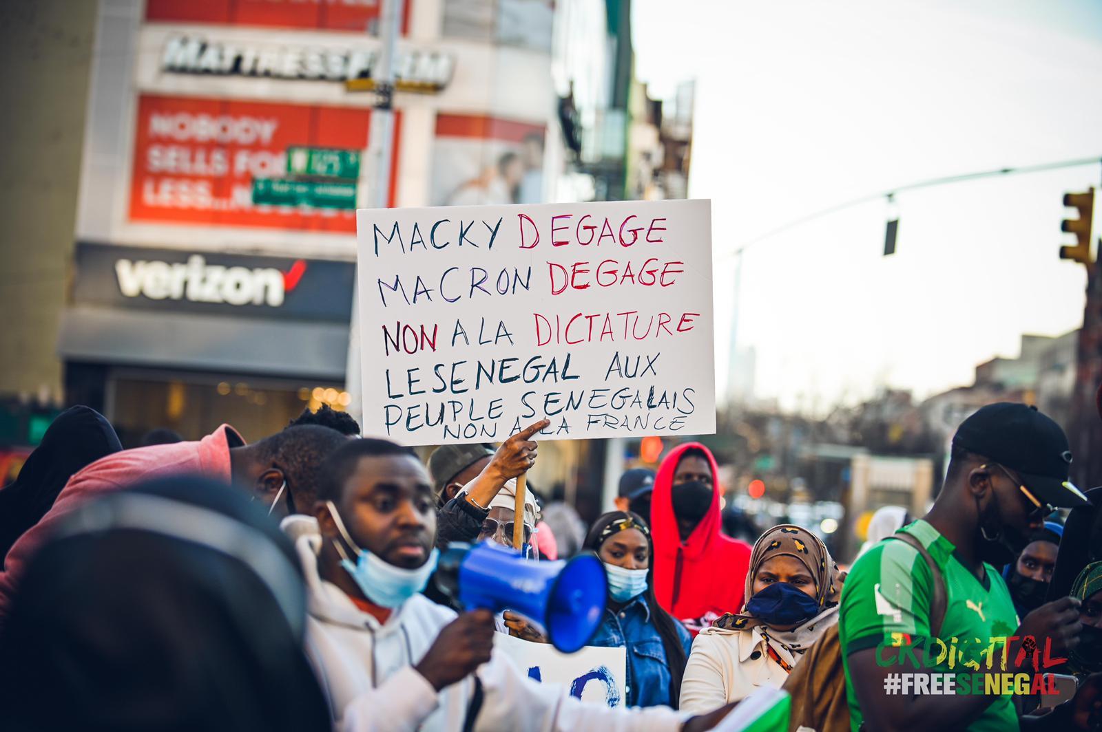 Libération des détenus politiques: Paris, Ottawa, New York... La diaspora Sénégalaise a tenu sa marche