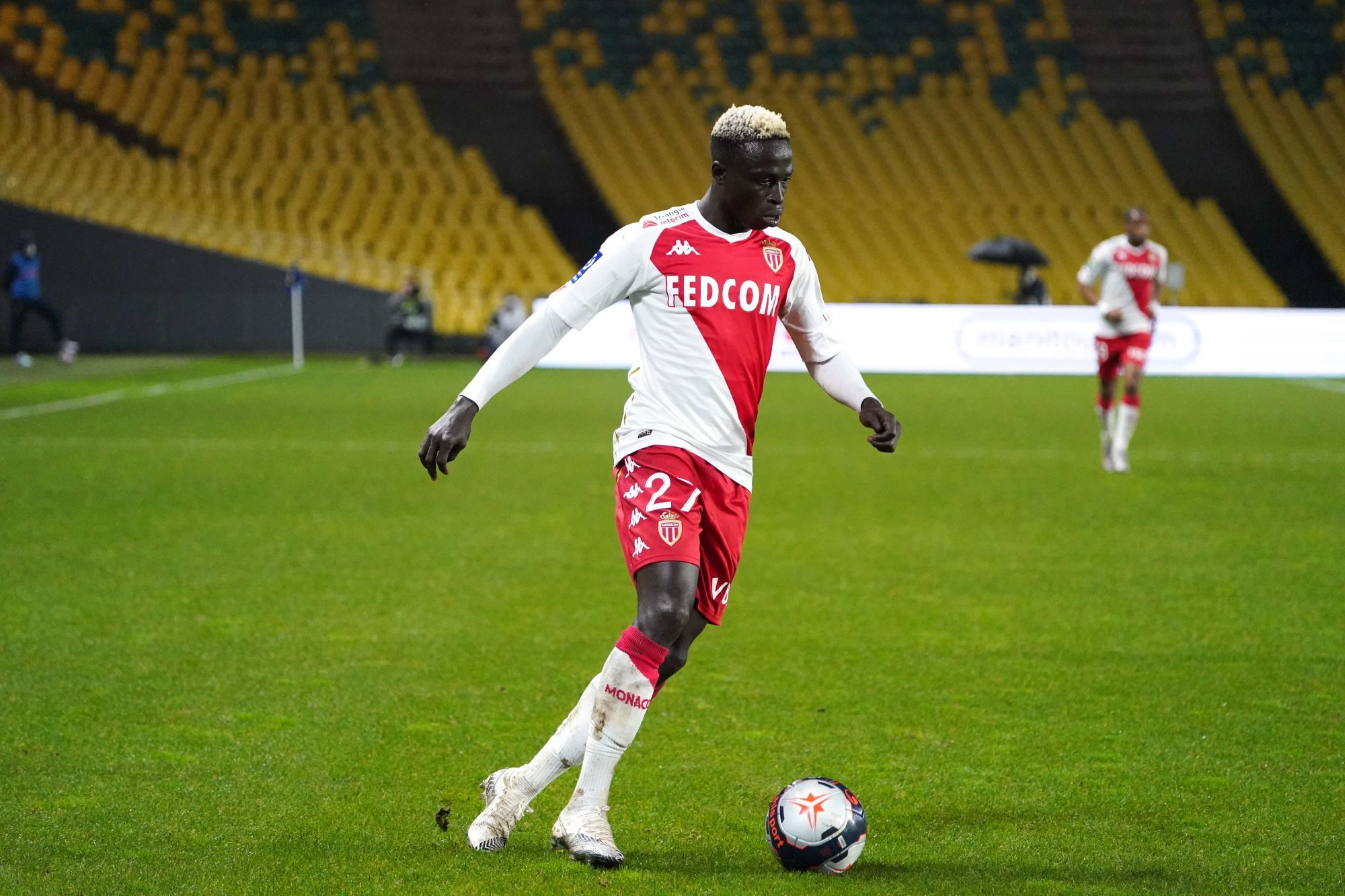Monaco:  Krépin Diatta marque son Premier but