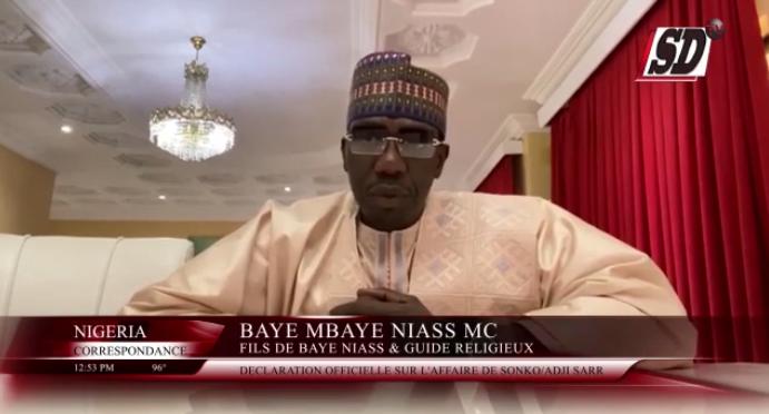 Affaire Sonko : Baye Mbaye Niass MC fait un témoignage sur Adji Sarr