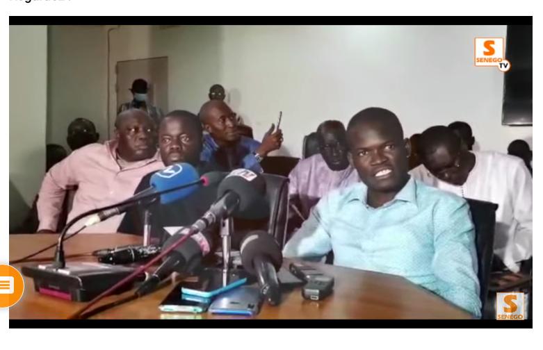 """Bassirou THIAW du mouvement """"Ndefleng"""" : «Ce n'est pas un problème entre Sérères et Diolas...Chacun voulait défendre son camarade »"""
