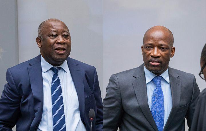 CPI: Laurent Gbagbo et Charles Blé Goudé acquités