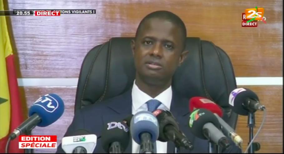 Report des élections locales :  Antoine Félix Diome tente de convaincre