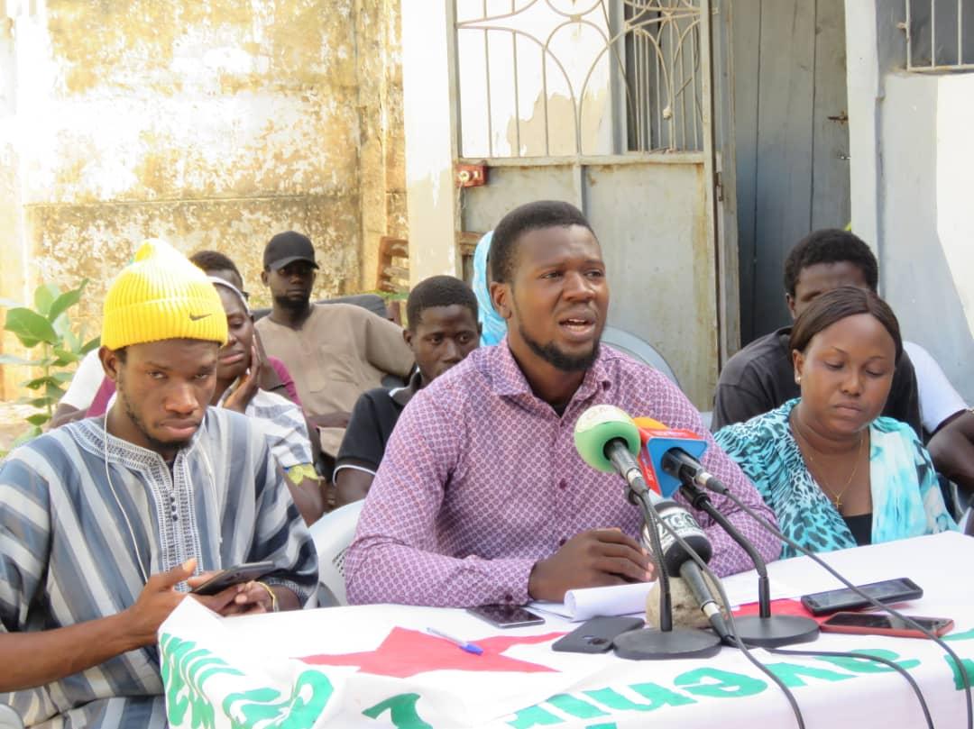 Ziguinchor :  La JPS dénonce la détention de ses camarades et menace...