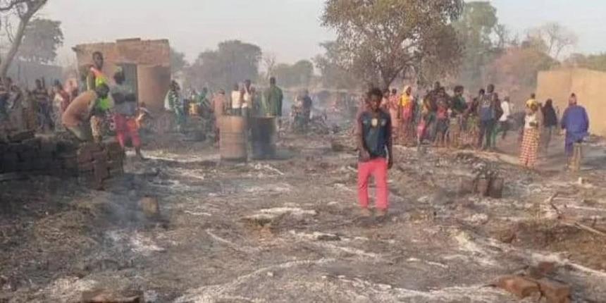 Kédougou: Une centaine de maison brûlées