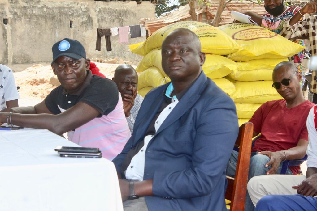 Ziguinchor : Le Président Seydou SANE appuie les handicapés et magnifie leur comportement