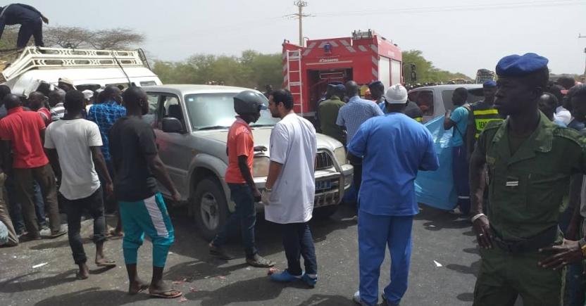 3 morts et 7 blessés dans un accident à Kaolack