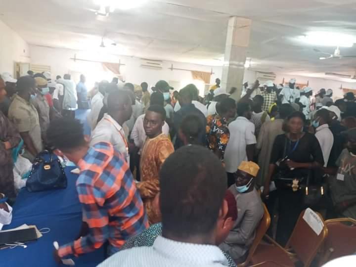 Tamba: Les jeunes de l'APR se donnent en spectacle
