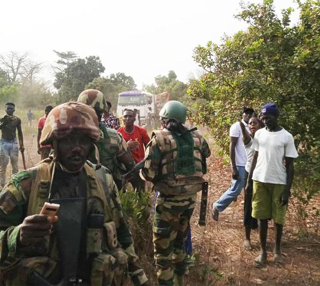Trafic de bois en Casamance : L'Armée  pourchasse les trafiquants et provoque la colère des Gambiens