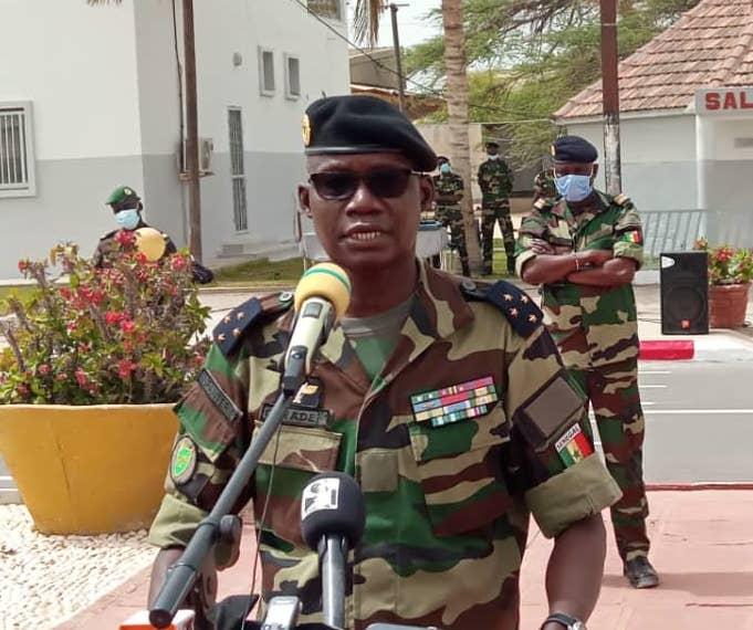 Le Chef d'Etat major des armées à Ziguinchor pour...
