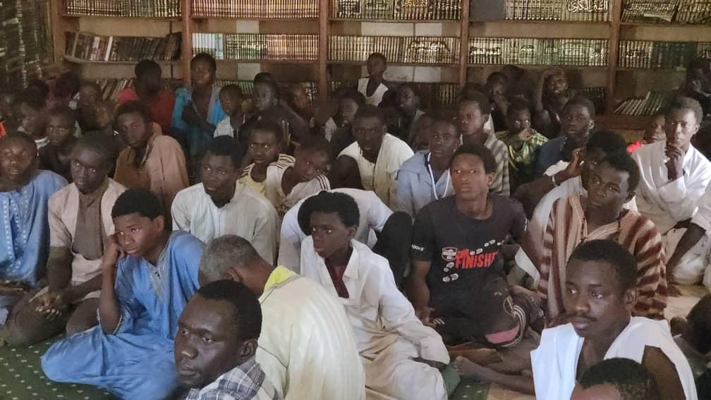 Sédhiou: Seydou Sané chez le guide religieux de Taiba