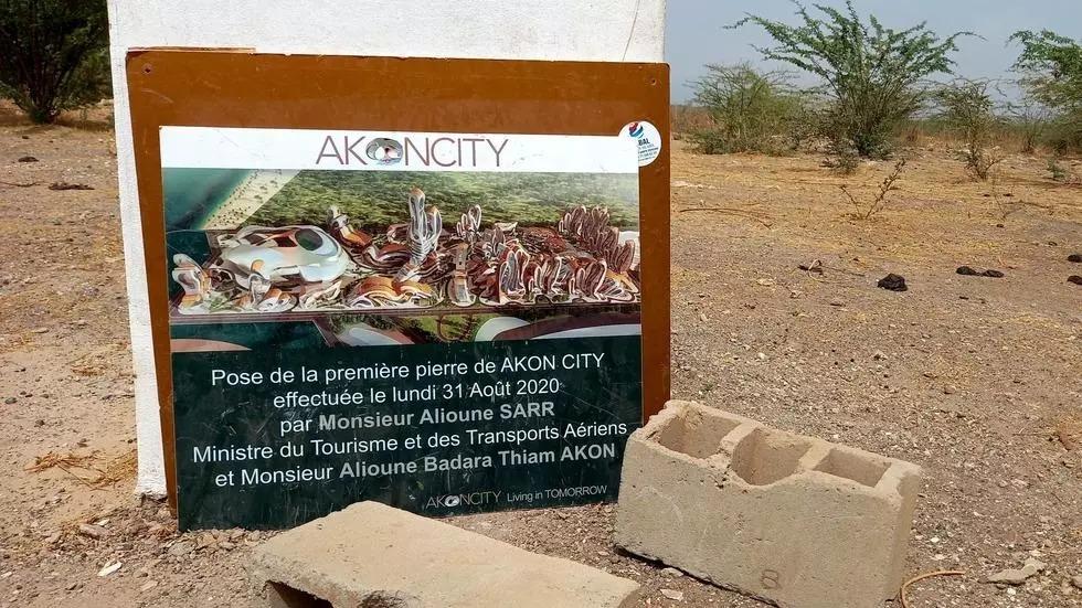 """Le chantier de la ville futuriste """"Akon City"""" est au point mort"""