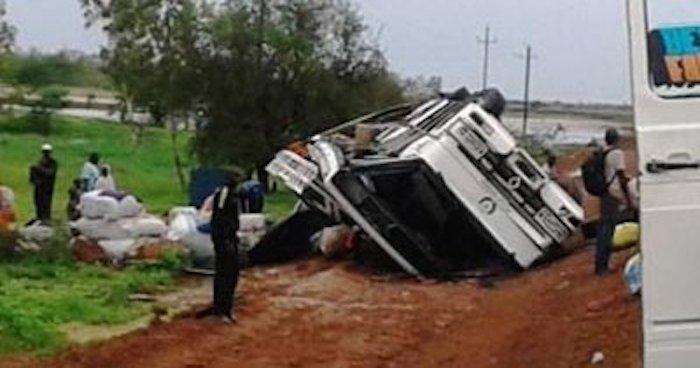 Guinée Bissau : 14 personnes meurent dans un accident de la circulation