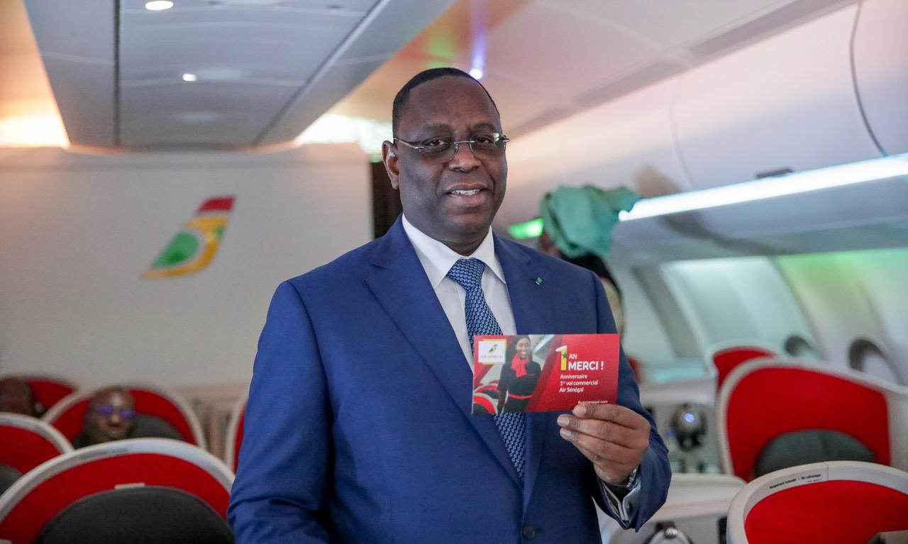 Macky achète un nouvel avion de commandement présidentiel