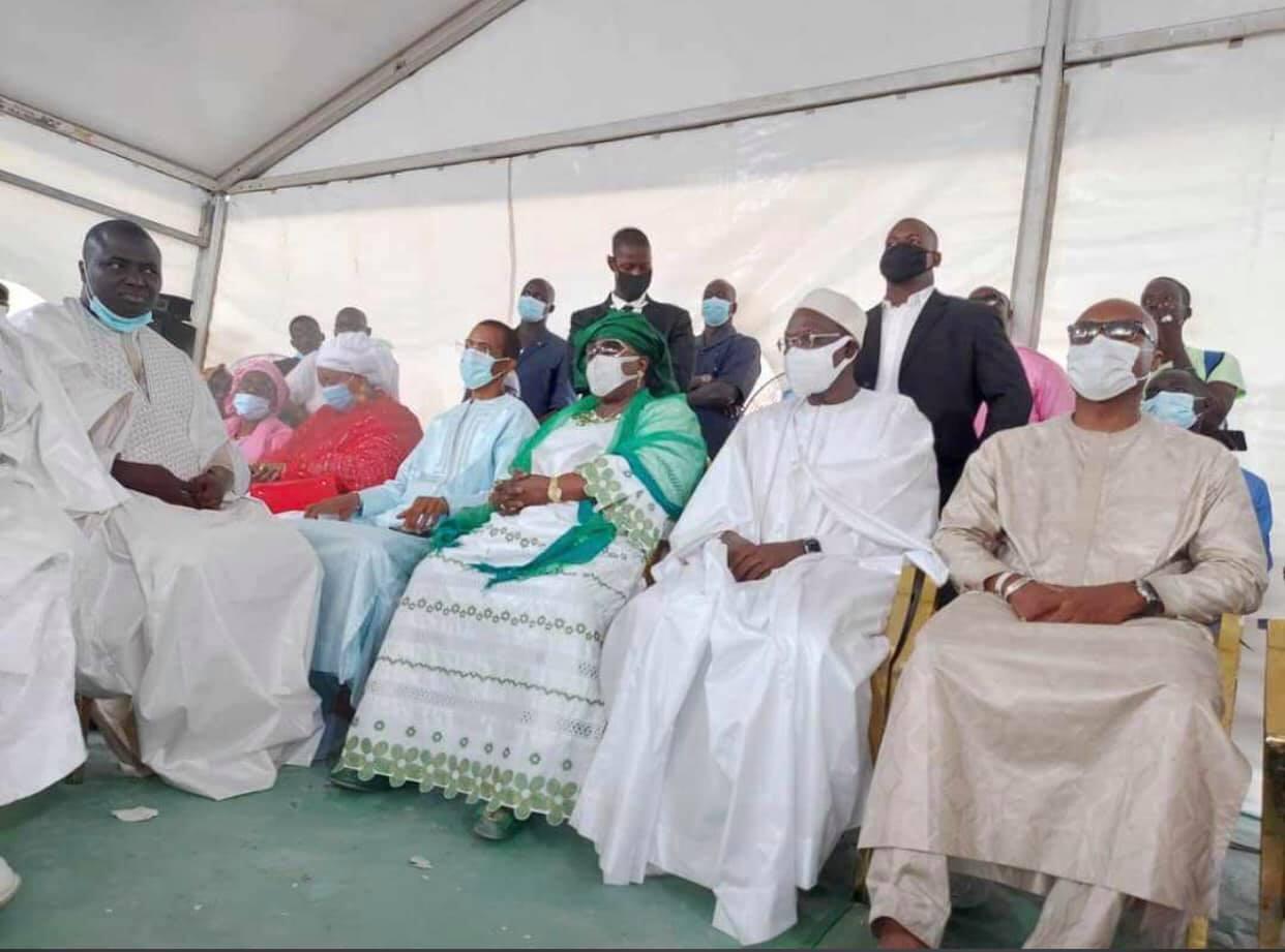 Aminata Mbengue Ndiaye, Bamba Fall... chez Khalifa Sall