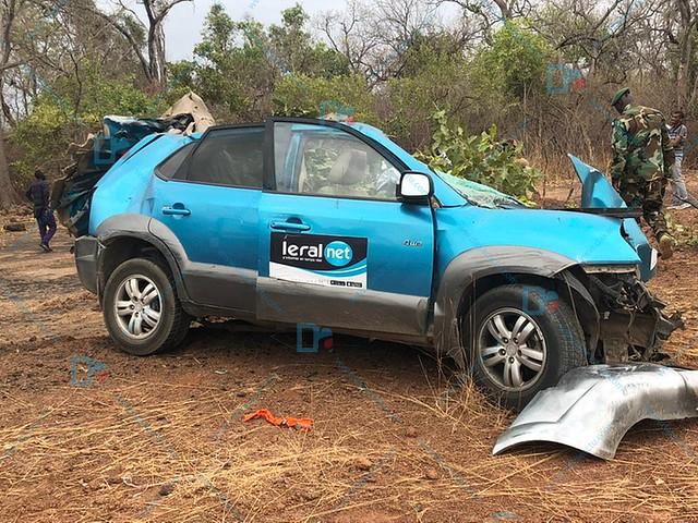 """Tournée de Macky : 3 reporters de """"Leral.Net"""" meurent dans un accident"""