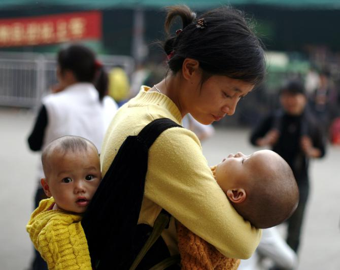 Les familles chinoises désormais autorisées à avoir trois enfants