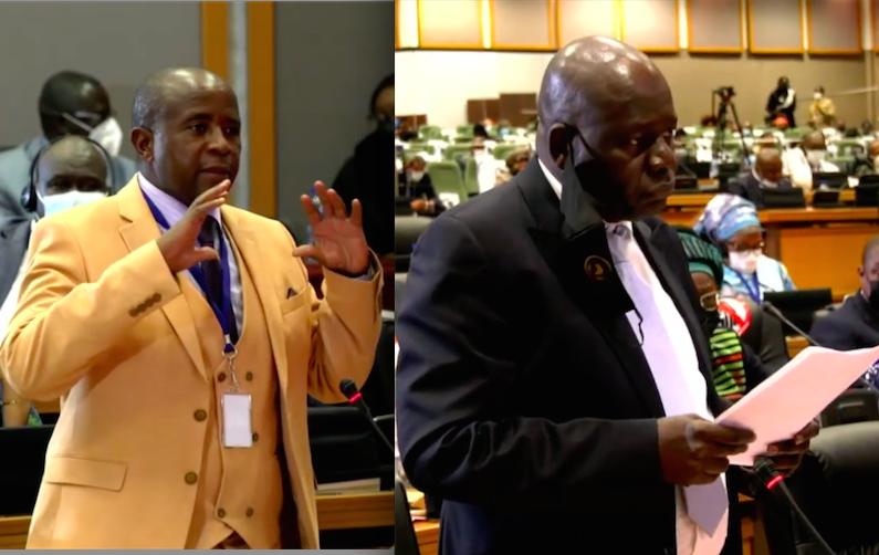 Parlement africain : Me War donne un coup de pied à une députée sud-africaine (Vidéo)