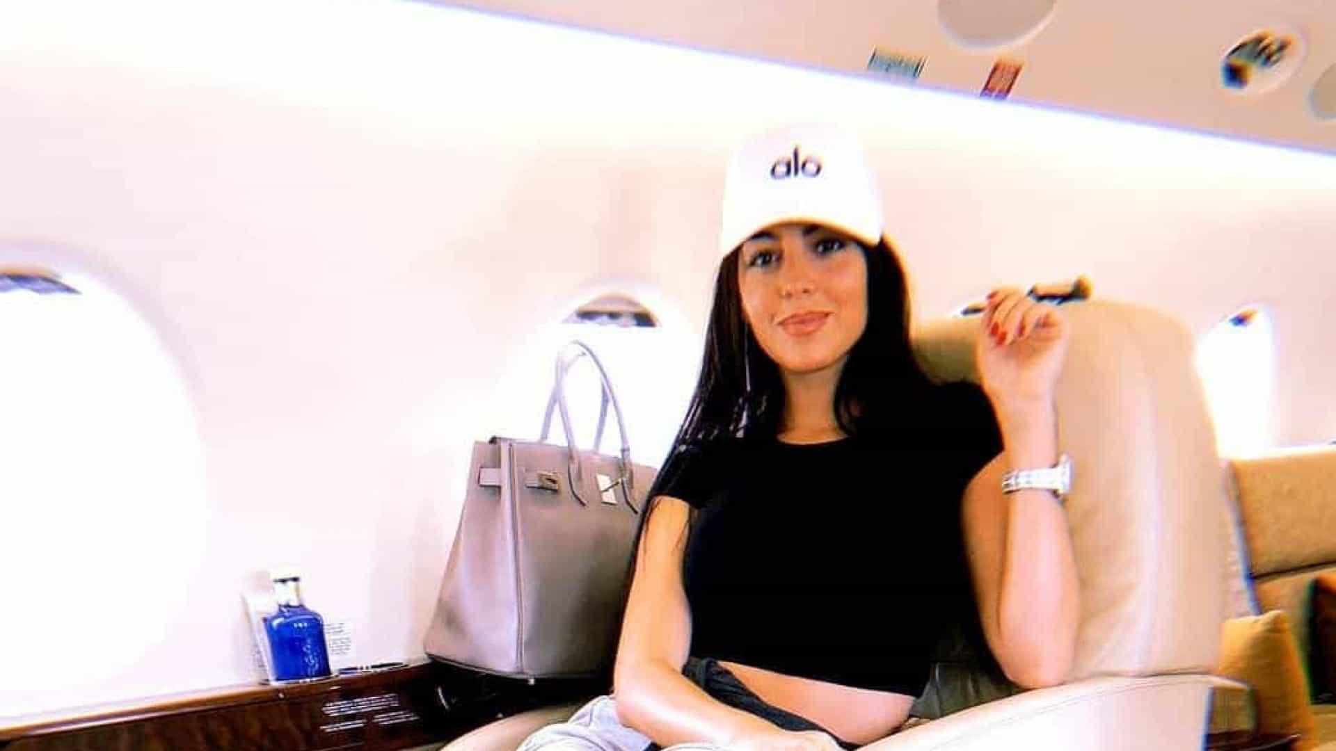 Georgina Rodriguez en voyage d'affaires !