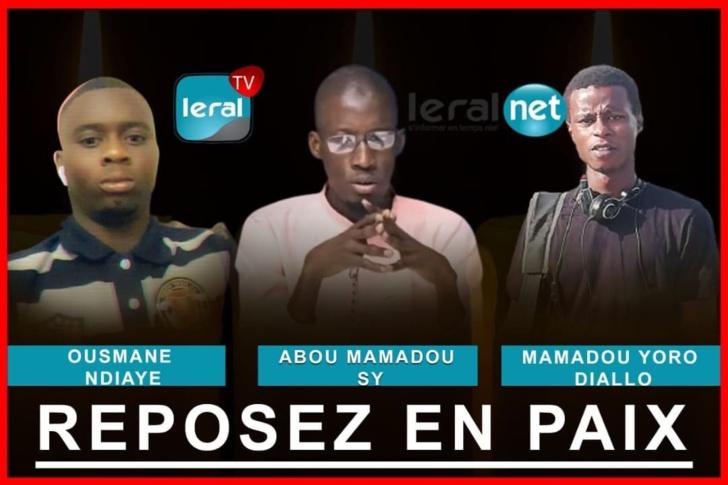 Agents de Leral Tv décédés : 7 millions F CFA par défunt et 3 millions par blessé