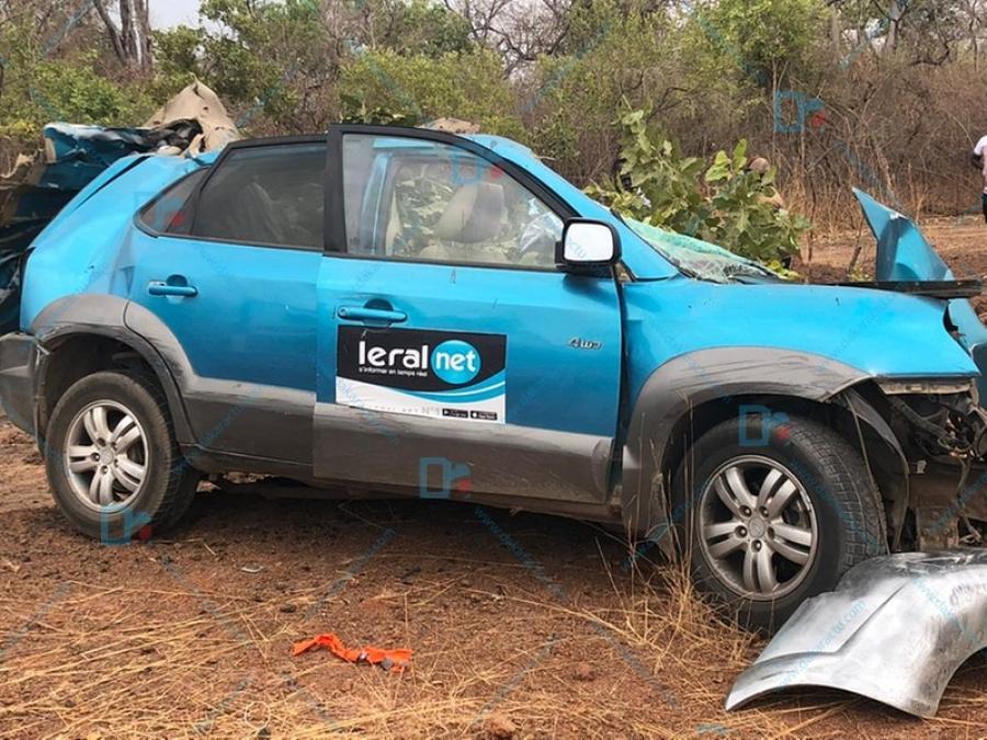 Mort des Agents e Leral.TV : Le permis du Chauffeur suspendu pour 2ans