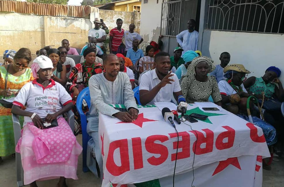 """Ziguinchor : Les jeunes de la JPS et du MOJIP exigent la libération des """"otages """""""