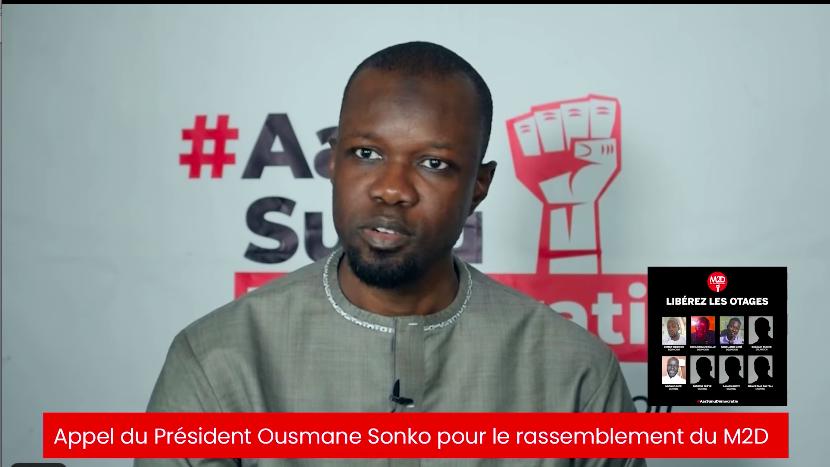 Marche autorisée : Ousmane SONKO appelle à une forte mobilisation ce vendredi 11 juin