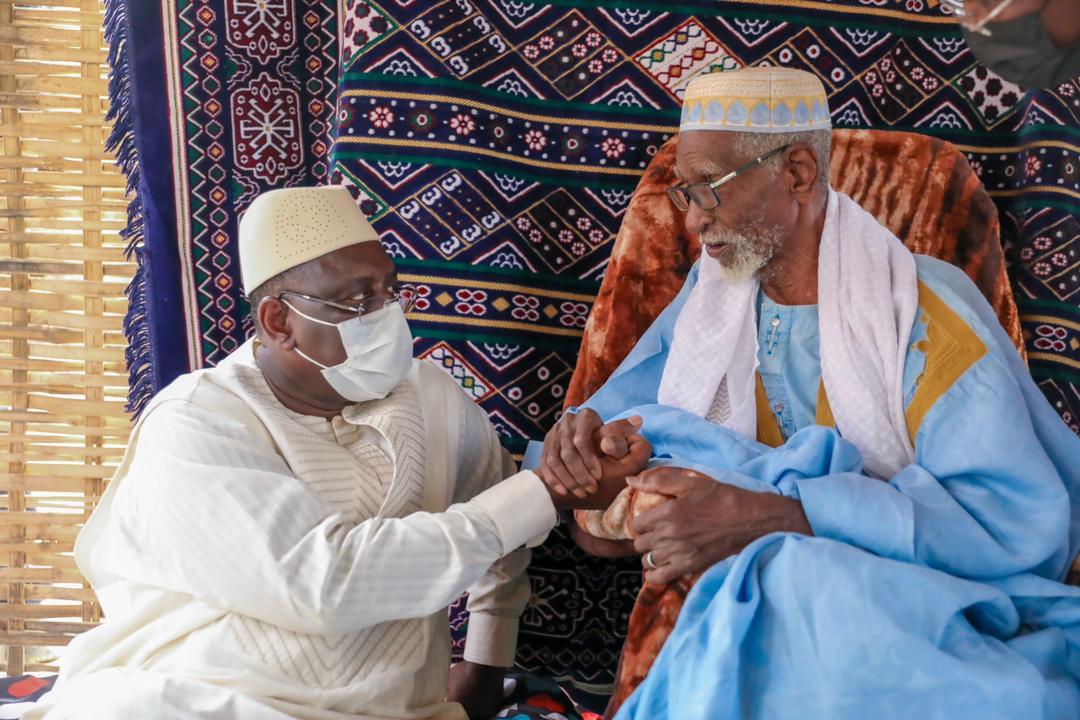 Matam : Macky retrouve le marabout qui a prononcé son prénom de baptême