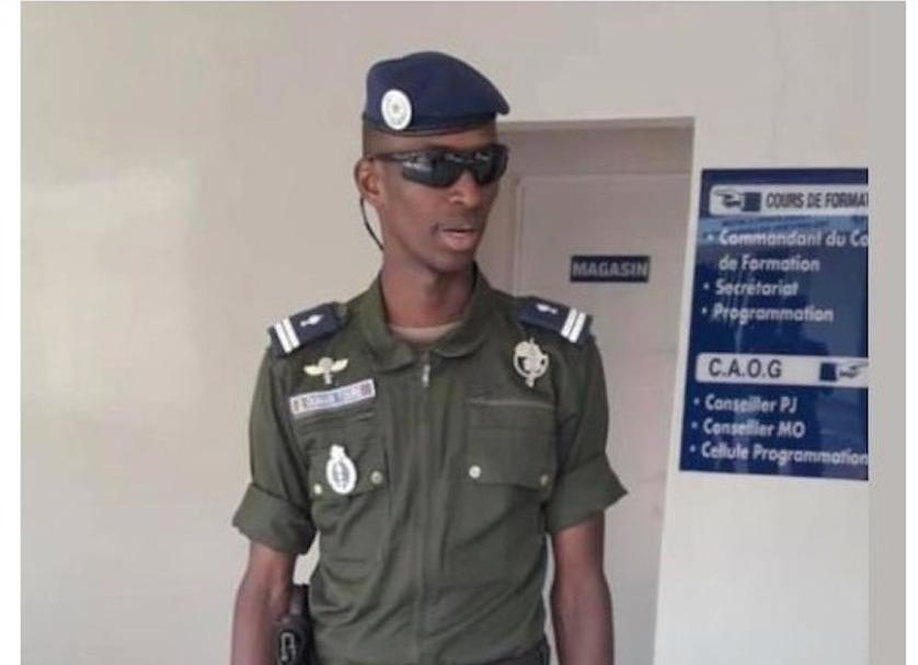 Le capitaine Omar Touré radié des cadres de la gendarmerie  (Document)