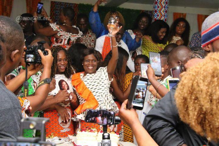 Célébration du 72e anniversaire de Simone Ehivet Gbagbo sans son mari
