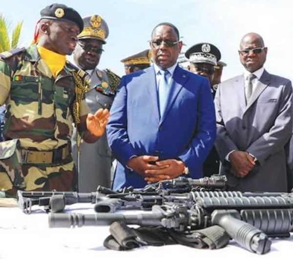 Achats d'armes de la France: Macky a dépensé 237 milliards Fcfa