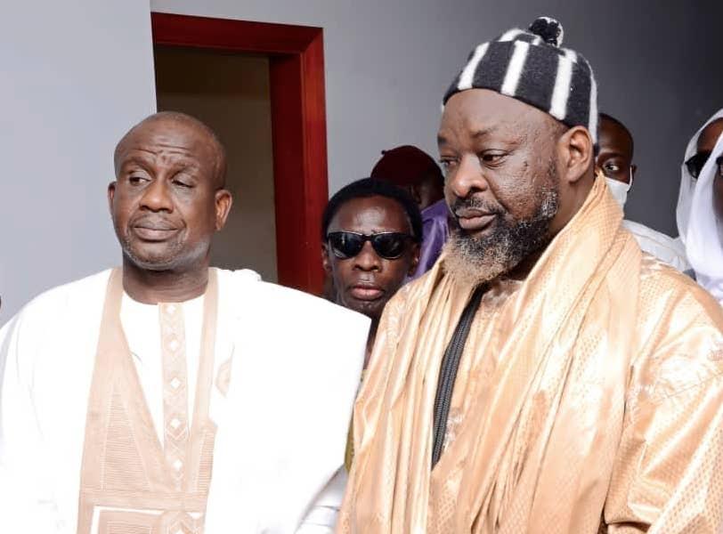 Le marabout d'Ousmane Sonko chez le député Mberry Sylla