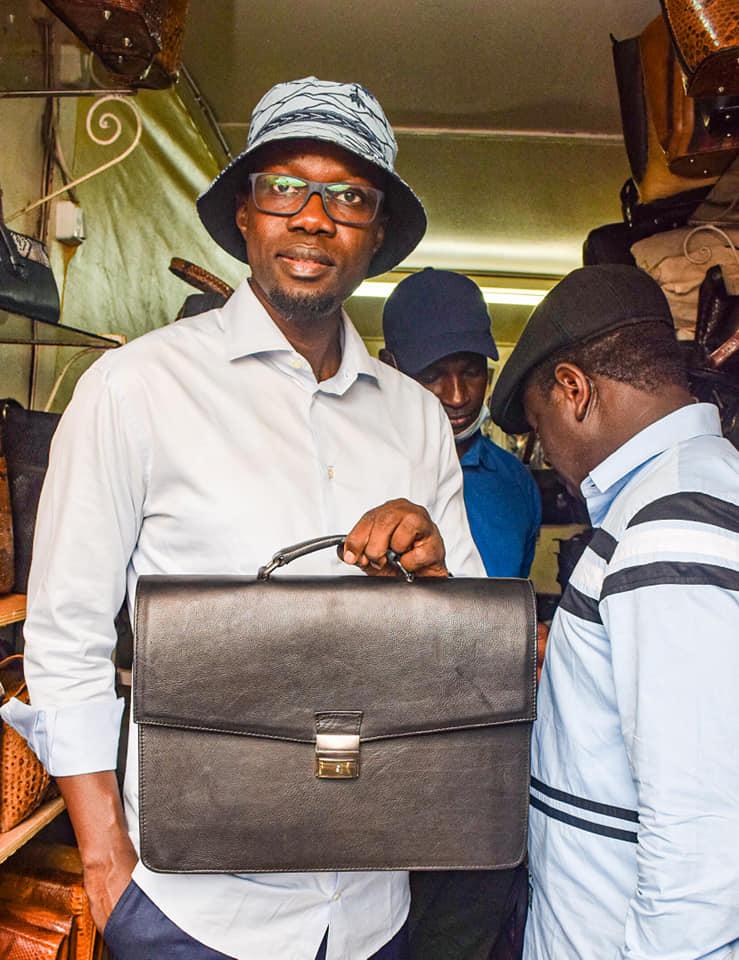 Ousmane Sonko lance le projet de PASTEF « Doolel Sunu'Art » (Photos)